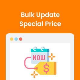 Bulk Update Special Price