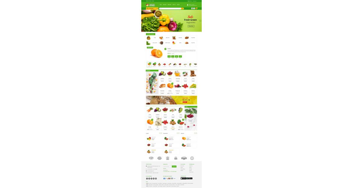 Grocery Theme