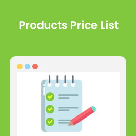 Products Price List