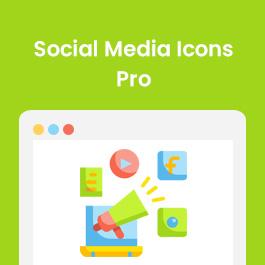 Social Media Icons Pro